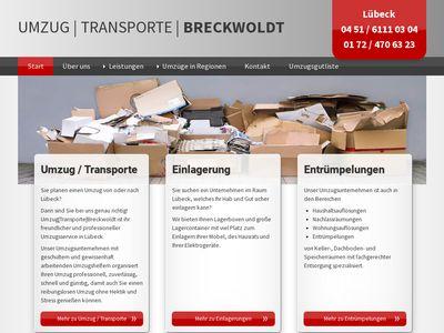 Umzugsunternehmen Breckwoldt