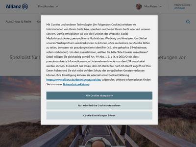 Allianz Versicherung Max Peters Hauptvertretung