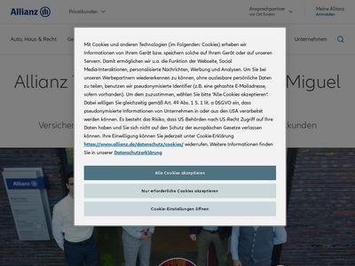 Allianz Vertretung Miguel Haaker