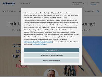 Allianz Versicherung Dirk Klein Hauptvertretung