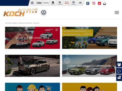 Autohaus Koch - Volkswagen