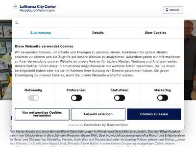 Reisebüro Wennmann Lufthansa City Center