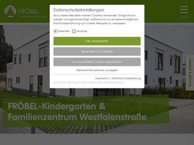 FRÖBEL-Kindergarten Westfalenstrasse