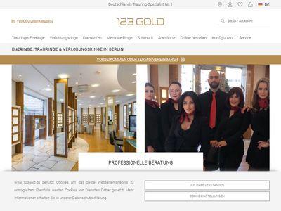 123gold Trauring-Zentrum