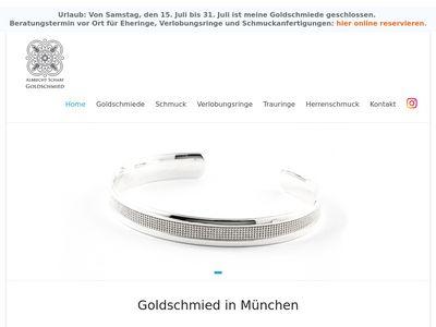 Albrecht Scharf - Goldschmied