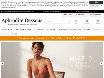 Aphrodite-Dessous - Lingerie and more