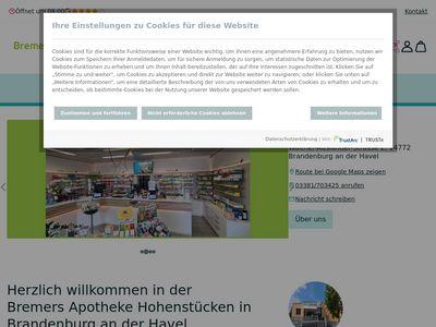 Bremers Apotheke Hohenstücken