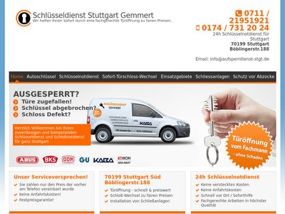 Schlüsseldienst Stuttgart Gemmert