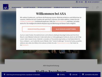 AXA Versicherung Heiko Jacobsen