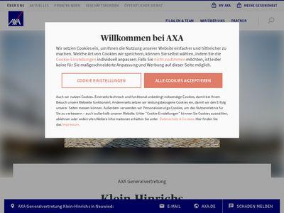 AXA Versicherung Klein-Hinrichs