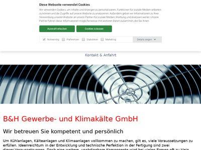 B & H Gewerbe- und Klimakälte GmbH