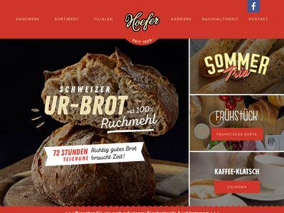Bäckerei Hoefer Schlosscafe