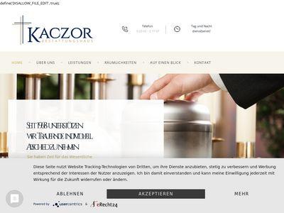 Beerdigungsinstitut Bernd Kaczor