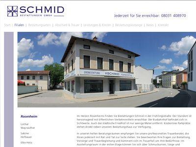Bestattungen W. Schmid GmbH