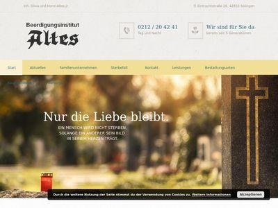 Beerdigungsinstitut Altes GmbH & Co. KG