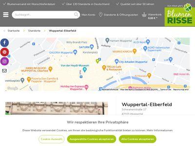 Blumen Risse - Wuppertal Elberfeld