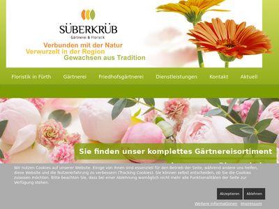 Blumen und Gärtnerei Süberkrüb