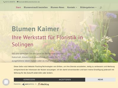 Blumen Kaimer