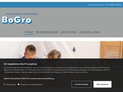 BoGro - Fachhandel für Bodenbeläge