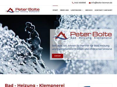 Peter Bolte Bad - Heizung - Klempnerei