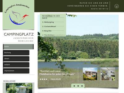 Campingplatz Jungferweiher Mobilheime