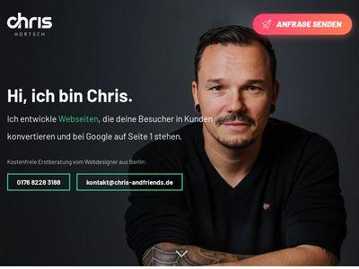Webdesigner Chris Hortsch