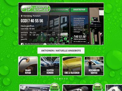 Clean Car Potsdam Lackdoctor & Autopflege