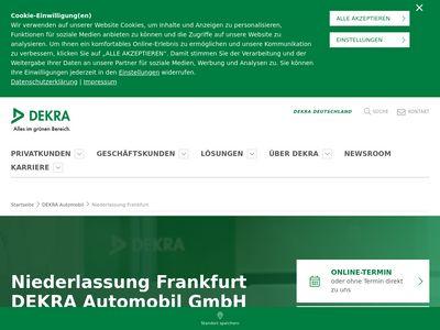 DEKRA Automobil Niederlassung Frankfurt