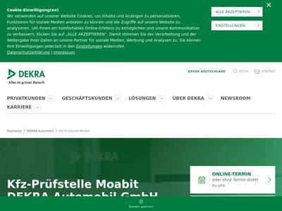 DEKRA Automobil Kfz-Prüfstelle Moabit