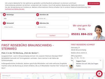 FIRST Reisebüro Schmidt