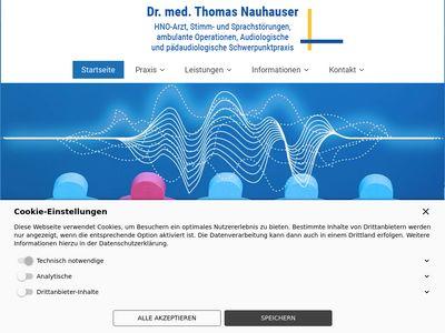 Praxis Dr. med. Thomas Nauhauser