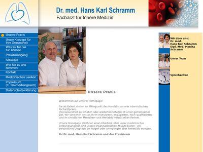 Dr. med Hans-Karl Schramm