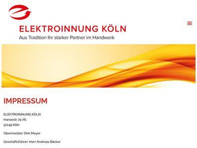 Elektroinnung Köln