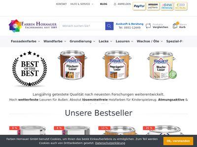Farben Hornauer GmbH - Bamberg