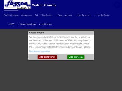 Fasson Textilpflege am real-Markt