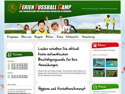 Ferien Fussball camp