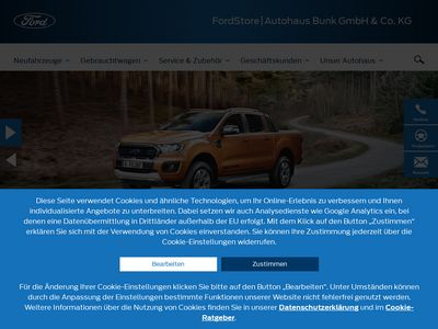 FordStore Autohaus Bunk GmbH