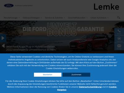 Ford - Autohaus Lemke GmbH