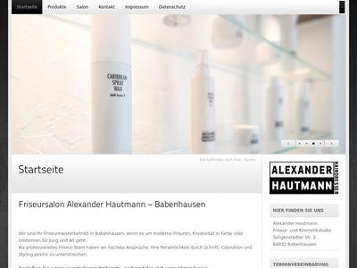 Friseur Alexander Hautmann Babenhausen