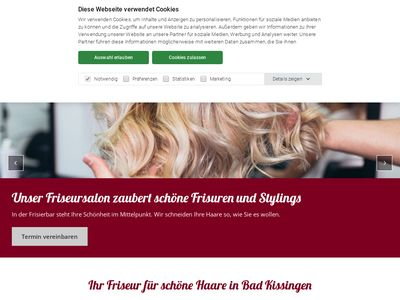 Frisierbar Bad Kissingen