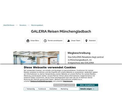 GALERIA Reisen Mönchengladbach