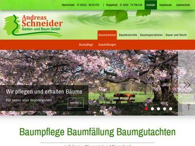 Andreas Schneider Garten und Baum GmbH