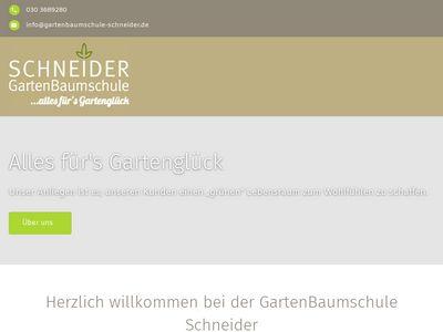GartenBaumschule Schneider