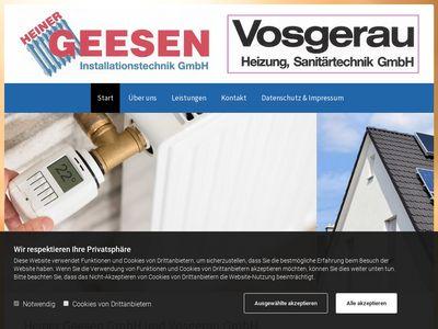 Vosgerau Heizungs- und Sanitärtechnik GmbH