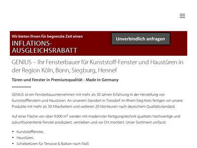 GENIUS Fenster & Türen GmbH