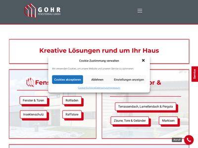 Gohr - Fensterbau GmbH