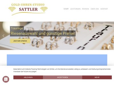 Gold-Uhren-Studio Sattler