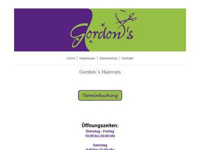 Gordons HAIRCUTS