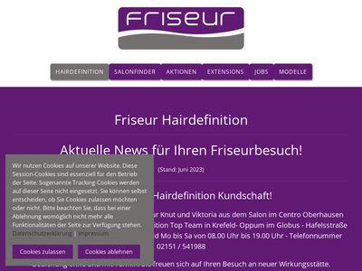 Friseur Hairdefinition