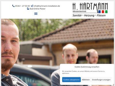 Hartmann Installation